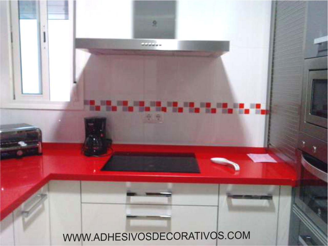 Fotografias de clientes comercial del regalo 2000 - Cenefas adhesivas cocina ...